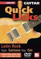 Guitar Quick Licks - Latin Rock - Santana Key: Gm