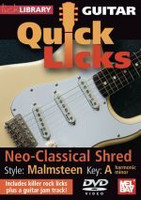 Guitar Quick Licks - Neo-Classical Shred DVD