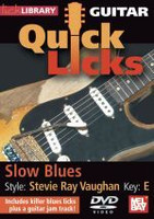 Guitar Quick Licks - Slow Blues, Stevie Ray Vaughan, Key: E