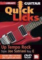 Guitar Quick Licks - Joe Satriani DVD