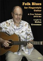 Folk Blues For Fingerstyle Guitar DVD