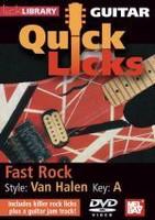 Guitar Quick Licks - Van Halen Style, Key: A DVD