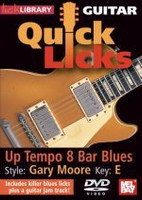 Guitar Quick Licks - Gary Moore Up Tempo 8 Bar Blues, Key of E D
