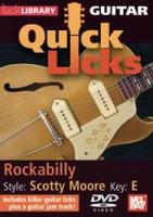 Guitar Quick Licks - Scotty Moore, Rockabilly Key of E