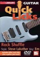 Guitar Quick Licks: Steve Lukather Style Rock Shuffle DVD