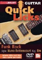 Guitar Quick Licks - Funk Rock - Nuno Bettencourt Style DVD