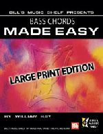 Bass Chords Made Easy, Large Print Edition