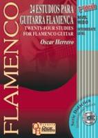 24 Studies For Flamenco Guitar, Intermediate Level Book/CD Set 2