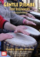 Gentle Djembe for Beginners, Volume 2 DVD