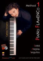 Piano Flamenco Method 1 Book/DVD Set