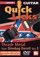 Guitar Quick Licks - Dimebag Darrell Style DVD
