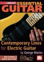 Essential Guitar Contemporary Lines for Electric Guitar DVD