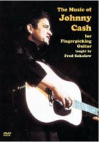 Music of Johnny Cash For Fingerpicking Guitar DVD