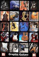 Graphic Guitars Poster