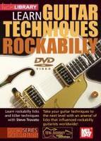 Learn Guitar Techniques: Rockabilly DVD