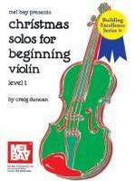 Christmas Solos for Beginning Violin - Level 1
