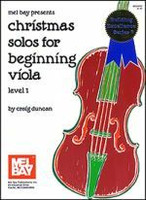 Christmas Solos for Beginning Viola - Level 1