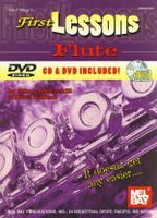 First Lessons Flute - Bk/CD/DVD