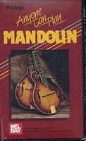 Anyone Can Play Mandolin VHS Video - Last Copies