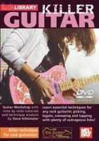 Killer Guitar - Killer Technique for Rock Guitarists DVD