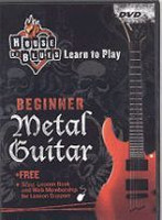 House of Blues - Beginner Metal Guitar DVD