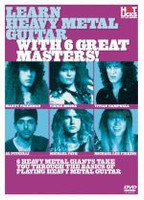 Learn Heavy Metal Guitar With 6 Great Masters DVD