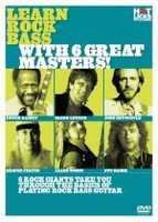 Learn Rock Bass With 6 Great Masters! DVD