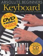 Absolute Beginners Keyboard - Book/CD/DVD