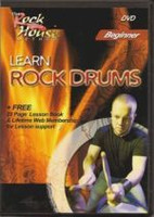 Learn Rock Drums - Beginner DVD