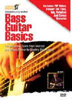 Bass Guitar Basics DVD