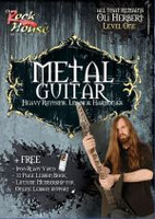 METAL GUITAR Heavy Rhythms, Leads & Harmonies Volume 1 DVD