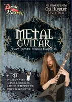 METAL GUITAR Heavy Rhythms, Leads & Harmonies Volume 2 DVD