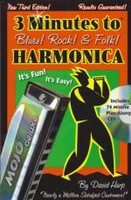 3 Minutes to Blues, Rock & Folk Harmonica, 3rd Edition