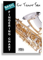 Basic Fingering Chart for Tenor Sax