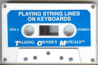 Playing String Lines on Keyboards