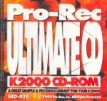 Pro-Rec Ultimate CD K2000 CD-ROM