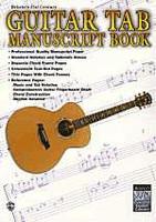 Guitar TAB Manuscript Book