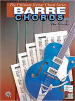 The Ultimate Guitar Chord Book Series: Barre Chords