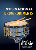International Drum Rudiments: Alfred's Music Playing Cards