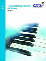 Technical Requirements for Piano Level 4 TRP04