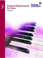 Technical Requirements for Piano Level 7 TRP07