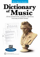 Dictionary of Music - Mini Music Guides