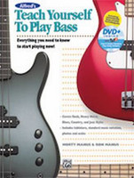 Alfred's Teach Yourself to Play Bass - Book & DVD