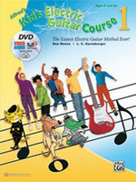Alfred's Kid's Electric Guitar Course 1 - Book, DVD & Online