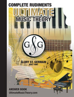 Ultimate Music Theory - Complete Rudiments Answer Book