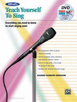 Alfred's Teach Yourself to Sing - Book & DVD & Online