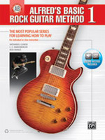 Alfred's Basic Rock Guitar Method 1 - Book & Online Audio