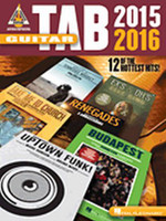 Guitar Tab 2015-2016 - Guitar Recorded Version
