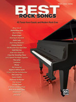 Best Rock Songs Piano/Vocal/Guitar Songbook