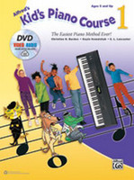 Alfred's Kid's Piano Course 1 - Book, DVD & Online Audio & Video